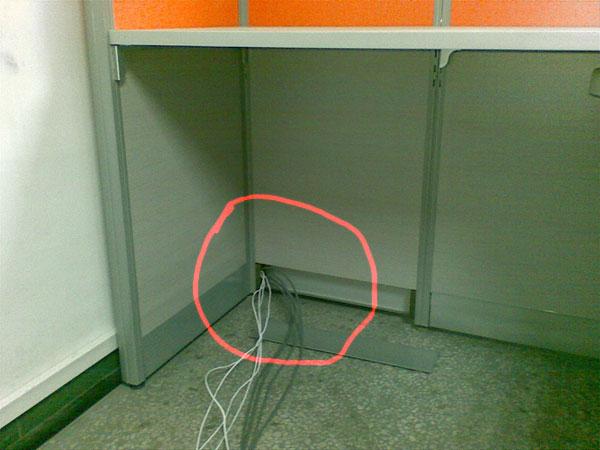 如何正确的安装办公家具电线